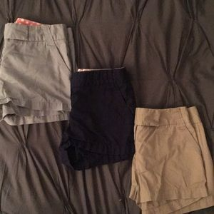 J.Crew Factory Chino Shorts Bundle. 3 for 1!